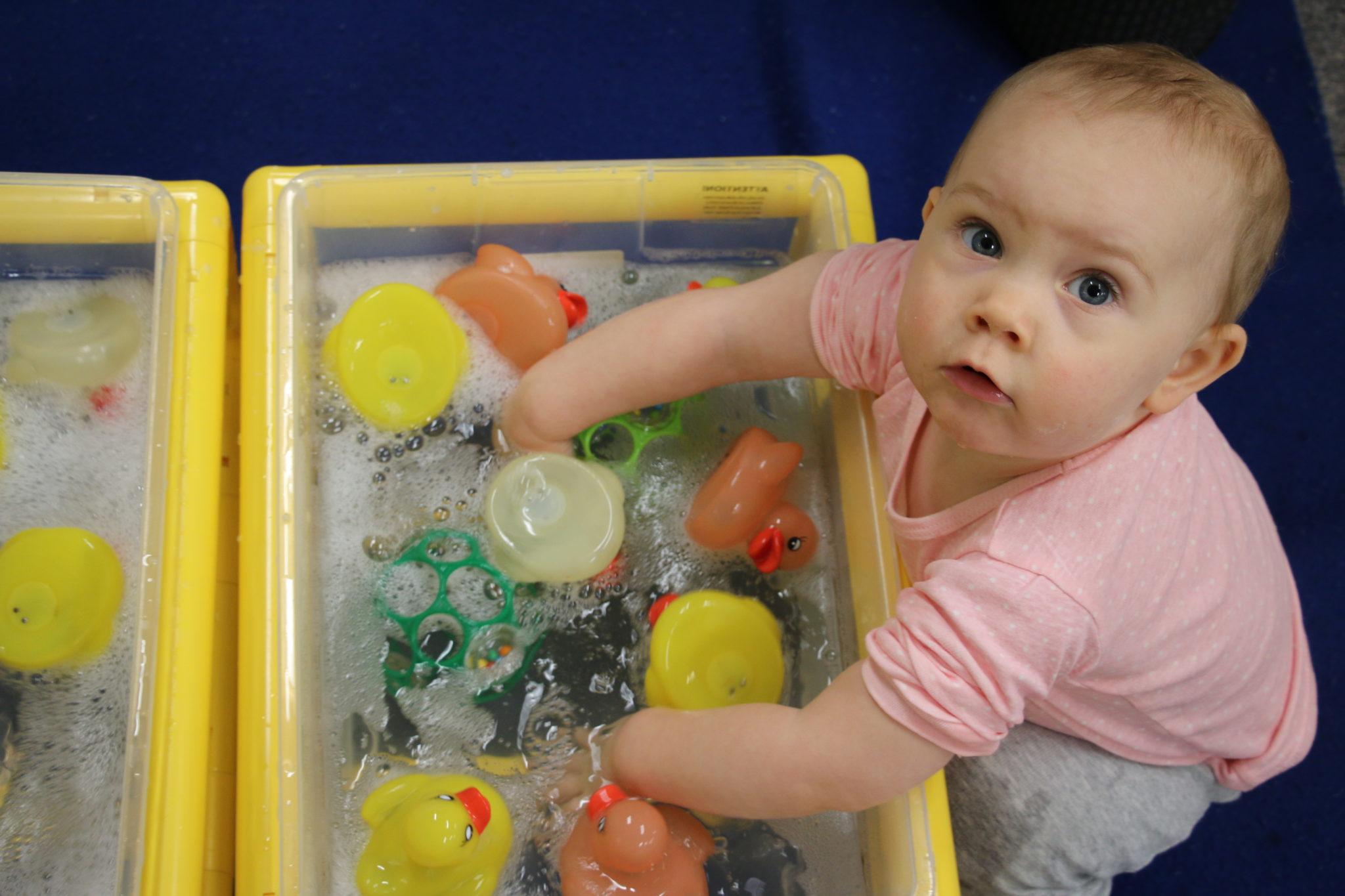 Image: Fessenden Children's Center - Infant program for girls and boys in Newton, Mass.