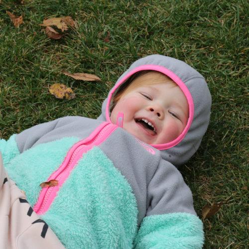 Outside Smiling Girl